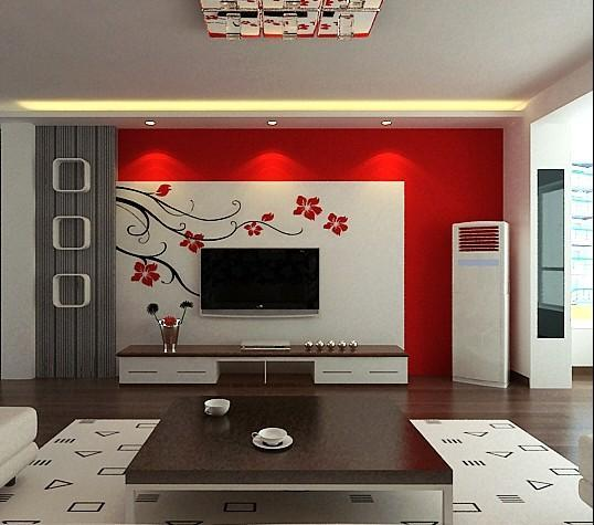 客厅墙画如何选
