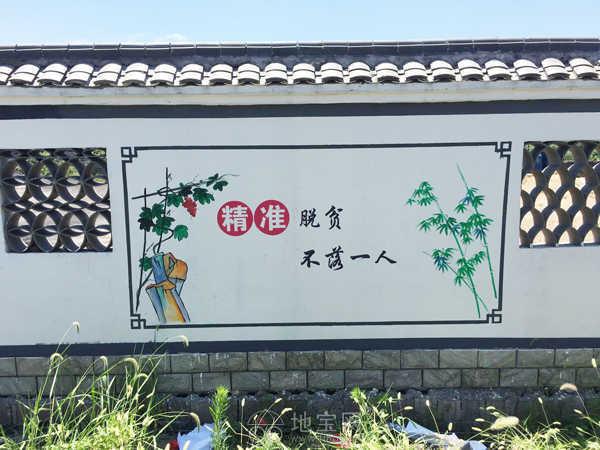 为何彩绘乡村文化墙是最经济最理想的方式呢?