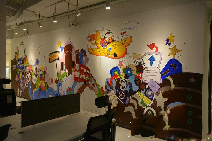 墙体彩绘中卧室手绘注意事项
