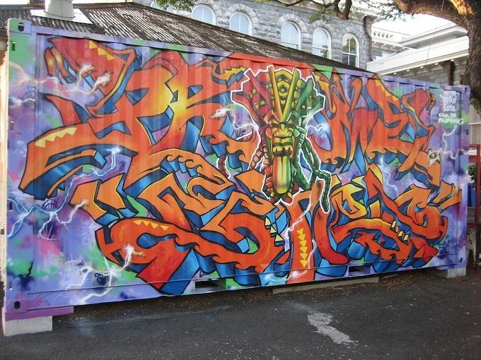 墙绘就是涂鸦?