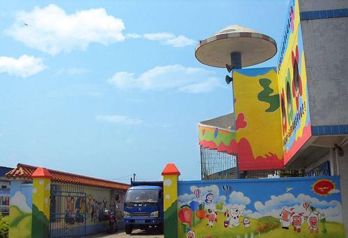 墙体彩绘在幼儿园中能够起到什么作用呢
