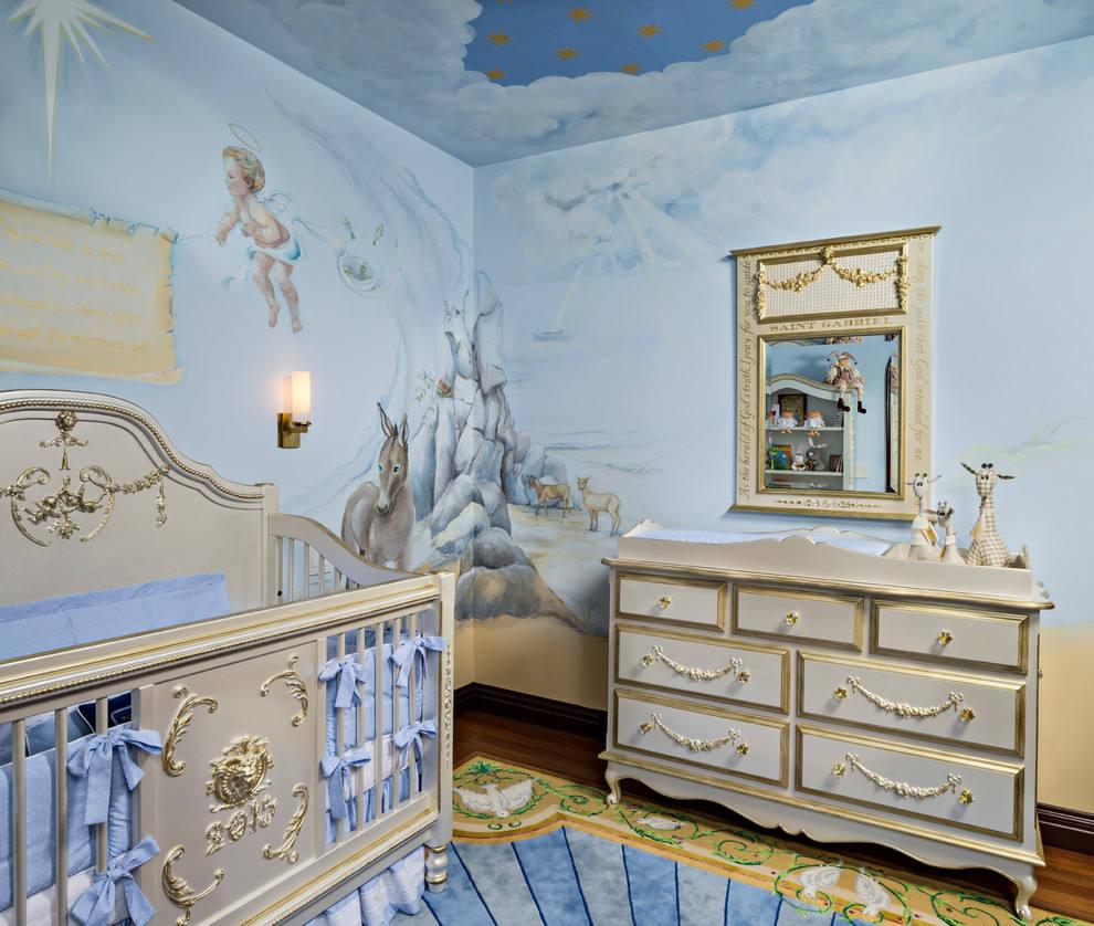 在客厅进行墙体彩绘都有哪些风格呢