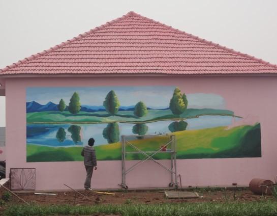 墙体彩绘艺术的行业现状分析