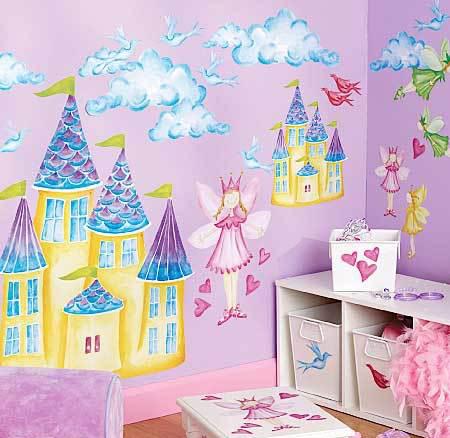 儿童房墙绘图案的选择至关重要