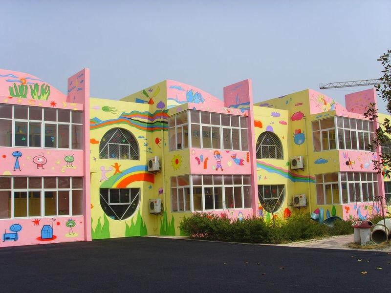 幼儿园外墙彩绘应考虑到哪些问题呢?