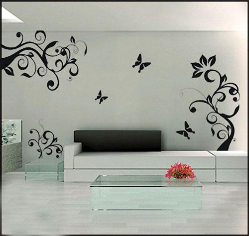 电视背景墙手绘墙似乎已经成为了一种时尚