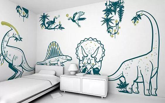 讲一讲墙体绘画有什么优点,即选择家庭手绘墙的好处