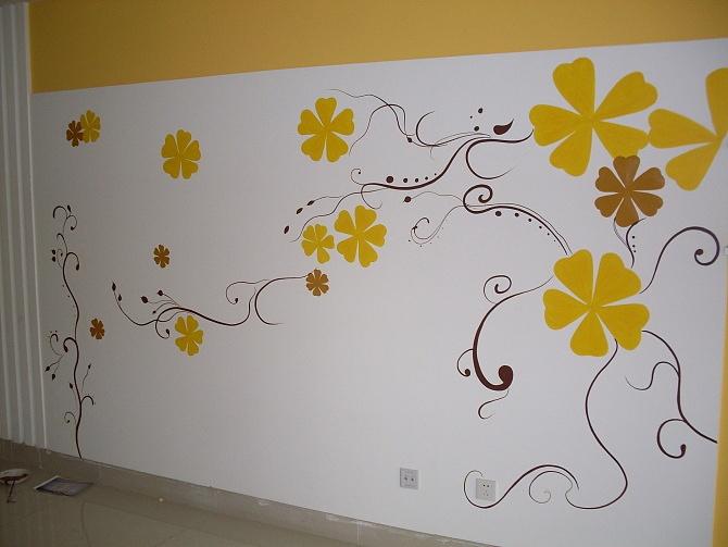 手绘墙与墙纸之间的差别 手绘墙、墙纸的优缺点