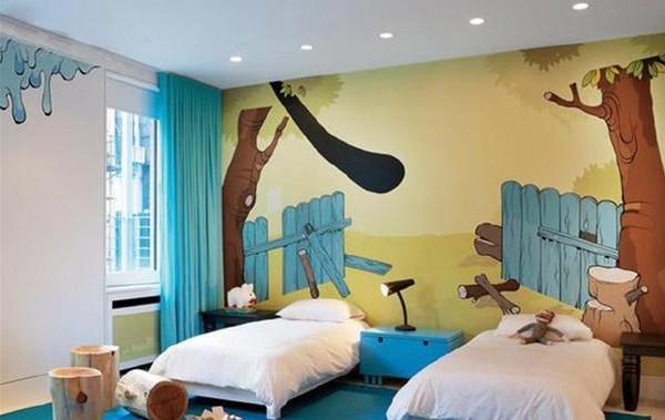 南昌彩绘墙壁,南昌彩绘墙壁公司,南昌立体画手绘,南昌背景墙墙体彩绘