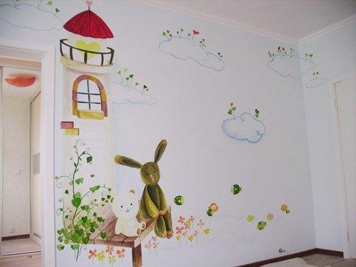 南昌手绘背景墙,南昌背景墙手绘,南昌壁画涂鸦,南昌喷绘墙面