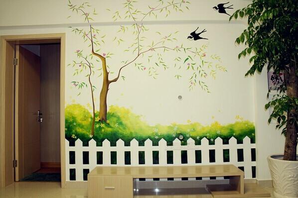 南昌背景墙,南昌墙体壁画,南昌外墙墙绘,南昌壁画,南昌绘画