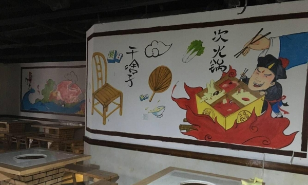 南昌彩绘古建,南昌手绘墙绘,南昌彩绘画,南昌手绘墙公司